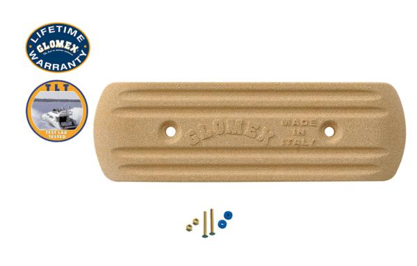 "Accessories - RA204 - 8""X 2.6"" X 0.6"" RECTANGULAR GROUND PLATE"