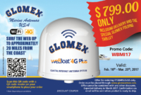 Glomex Marine Antennas USA - weBBoat 4G Plus