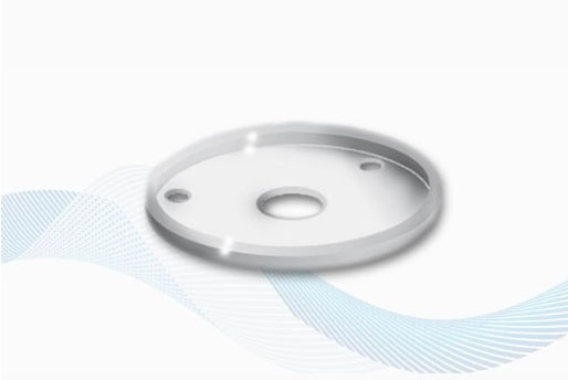 Accessories - V9101/W - WHITE RUBBER GASKET FOR ROUND MOUNTS